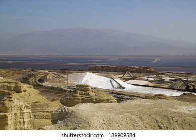 Factory - chemical factory in desert