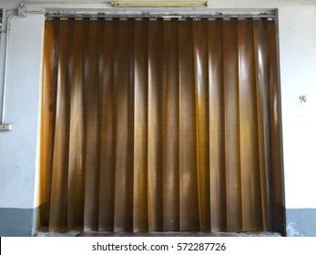 Factory curtain door