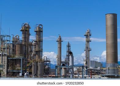 Factory in Fuji City, Shizuoka Prefecture
