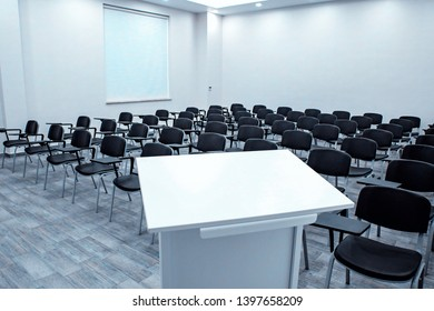 factory meeting room table and seating layout