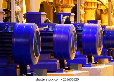Factory motor machine equipment.Industrial business and technologies.