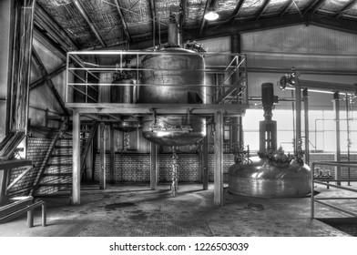 A factory near Kashan -Iran