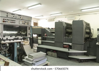 Factory for the production and printing of paper and cardboard packaging