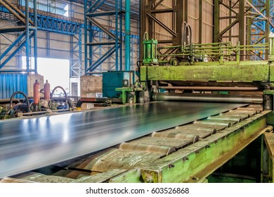 Factory steel rolling mill industrial in Asia
