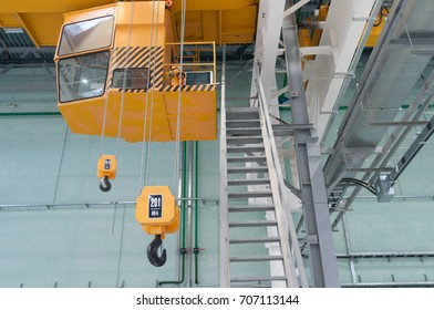 Factory warehouse overhead crane