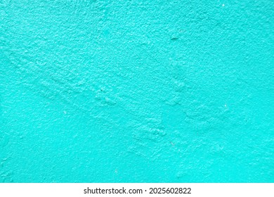 Faded blue painted wall background