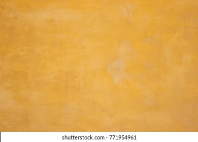 Faded Yellow Rendered Wall Background Texture