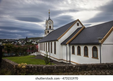 Faeroe island, Torshavn, the church.