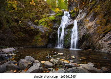 Faery Falls in Shasta-Trinity National Forest in Northern California