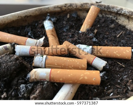 Fag Ends Cigarette Filters