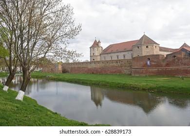 Fagaras Fortress in Brasov County, Romania