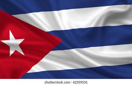 Fahne Flagge Kuba
