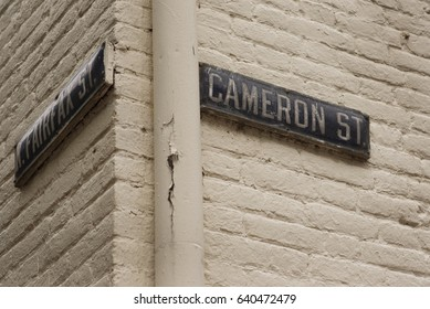 fairfax and cameron sign