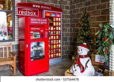fairfax usa december 11 2016 redbox machine by wegmans store in virginia - Is Wegmans Open On Christmas
