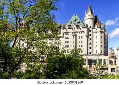 Fairmont Chateau Laurier - Montreal, Canada
