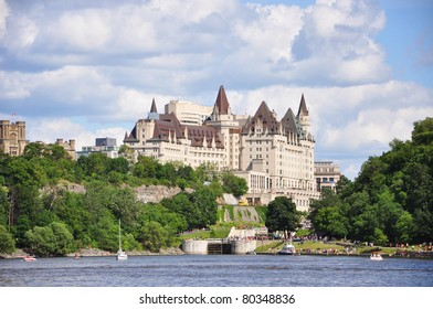 Fairmont Chateau Laurier in Ottawa, Ontario, Canada