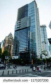 Fairmont Pacific Rim Hotel in Vancouver, British Columbia, Canada on 31st July 2018