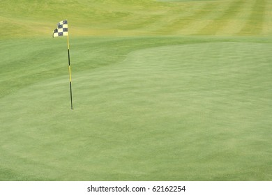 fairway golf link flag and hole background