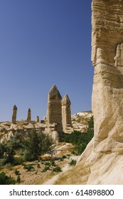 Fairy chimney formations in Turkey