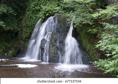 Fairy Glen Falls in Scotland
