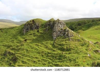 Fairy Glen- Isle of skye