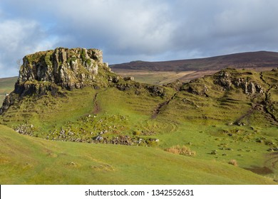 Fairy Glen at Isle of Skye, Scotland. UK