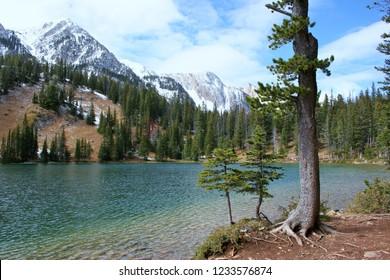 Fairy Lake in the Bridger Mountains of Montana