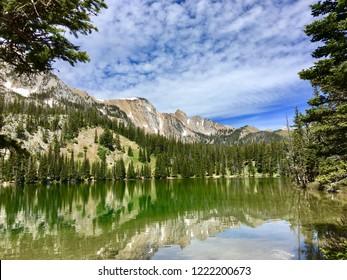 Fairy Lake Bridgers Montana Mountains