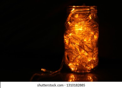 Fairy Lights Jar Images Stock Photos Vectors Shutterstock