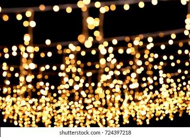 Fairy lights , Wedding setup