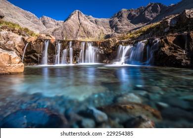 Fairy Pools, Isle of Skye, Inner Hebrides, United Kingdom, Scotland