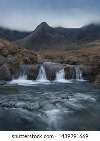 Fairy Pools on the Isle of Skye, Scotland