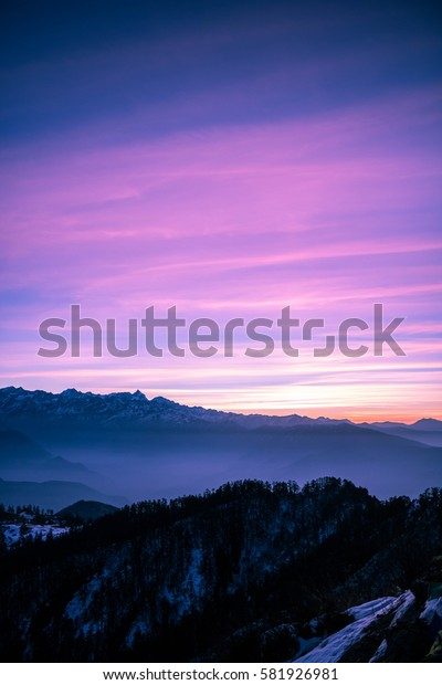 Fairy tail sunrise