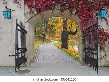 The fairyland in autumn, Europe