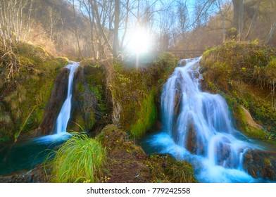 A Fairyland! Gostilje waterfalls in Zlatibor, Serbia.