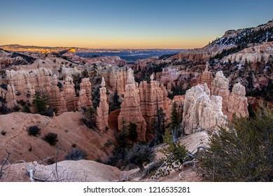 Fairyland sunset at Bryce Canyon National Park