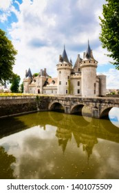 The Fairytale Castle of Sully-sur-Loire in the Loire Valley, France