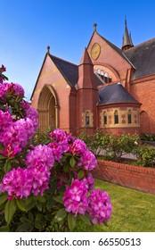 Fairytale church, Launceston, Tasmania, Australia