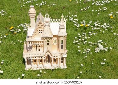 Fairytale Gothic Victorian style dollhouse