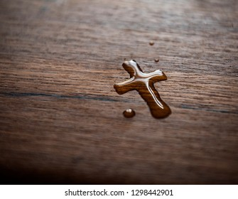 Faith Christianity |  Cross Water Drop