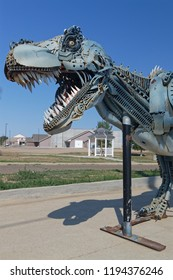 FAITH, SOUTH DAKOTA, September 7, 2018 : The town, known as Home of Sue, the Most Complete T-Rex Ever Discovered is a prairie oasis in the heart of South Dakota.