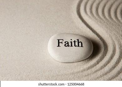 Faith stone