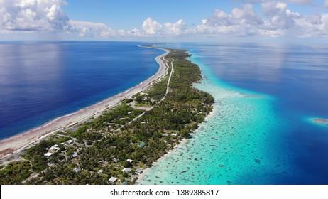 FAKARAVA ATOLL in French Polynesia