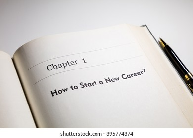 fake book. how to start a new career?