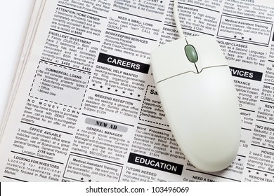 Newspaper Job Ad Images, Stock Photos & Vectors | Shutterstock
