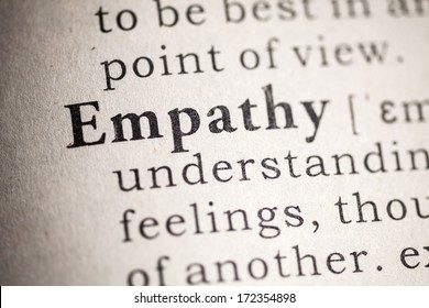 Fake Dictionary, Dictionary definition of empathy.
