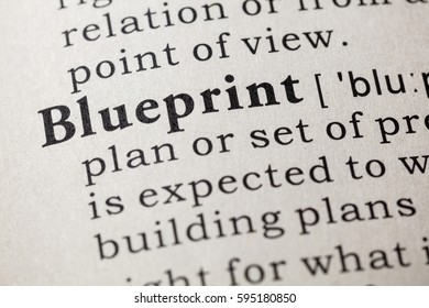 Fake dictionary dictionary definition word mentor stock photo fake dictionary dictionary definition of the word blueprint including key descriptive words malvernweather Image collections
