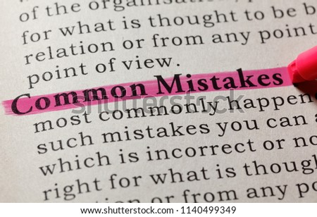 common word mistakes