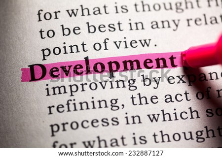definition of the word development
