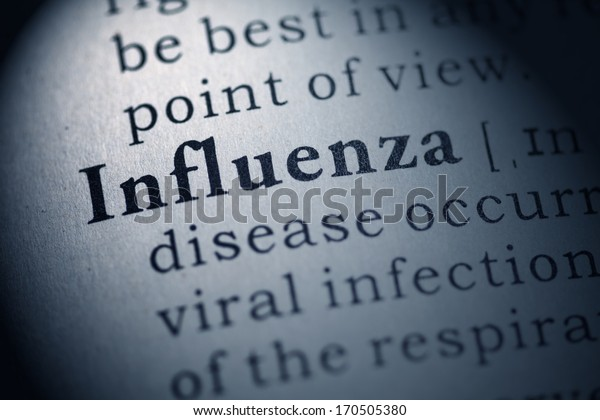 Fake Dictionary, Dictionary definition of the word influenza.
